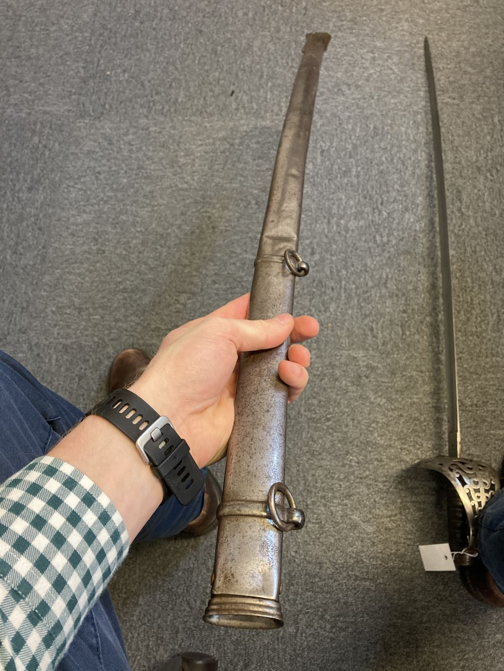 * Sword. Victorian Heavy Cavalry Officer's sword - Image 13 of 14