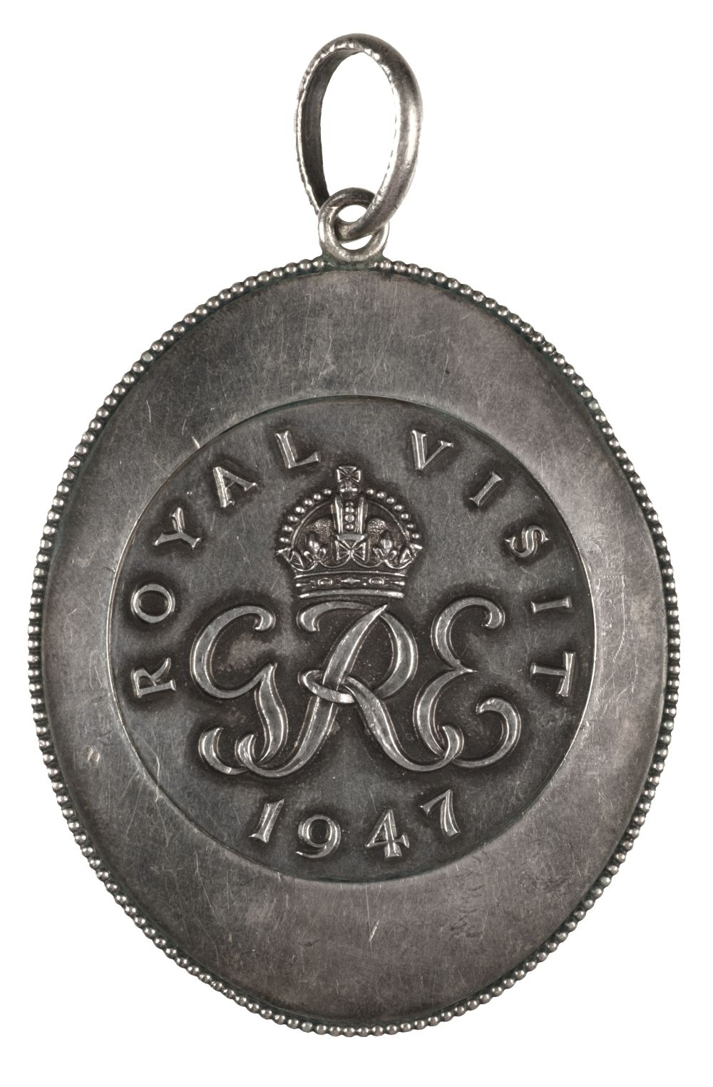 * Rhodesia. Royal Visit to South Africa 1947 Silver Medal