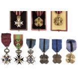 * Belgium. Various Medals