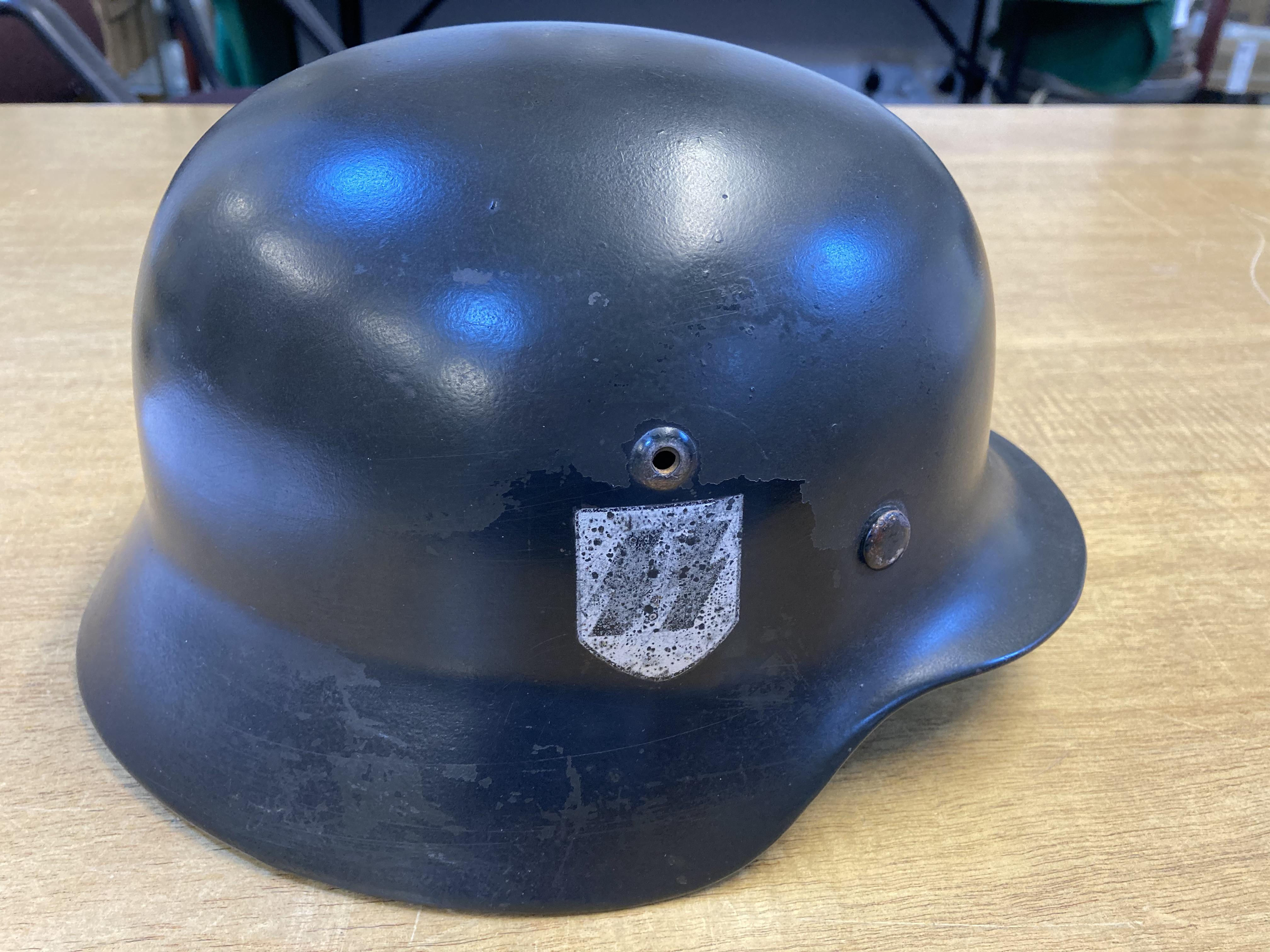 * Third Reich. SS M35 Helmet - Image 2 of 10