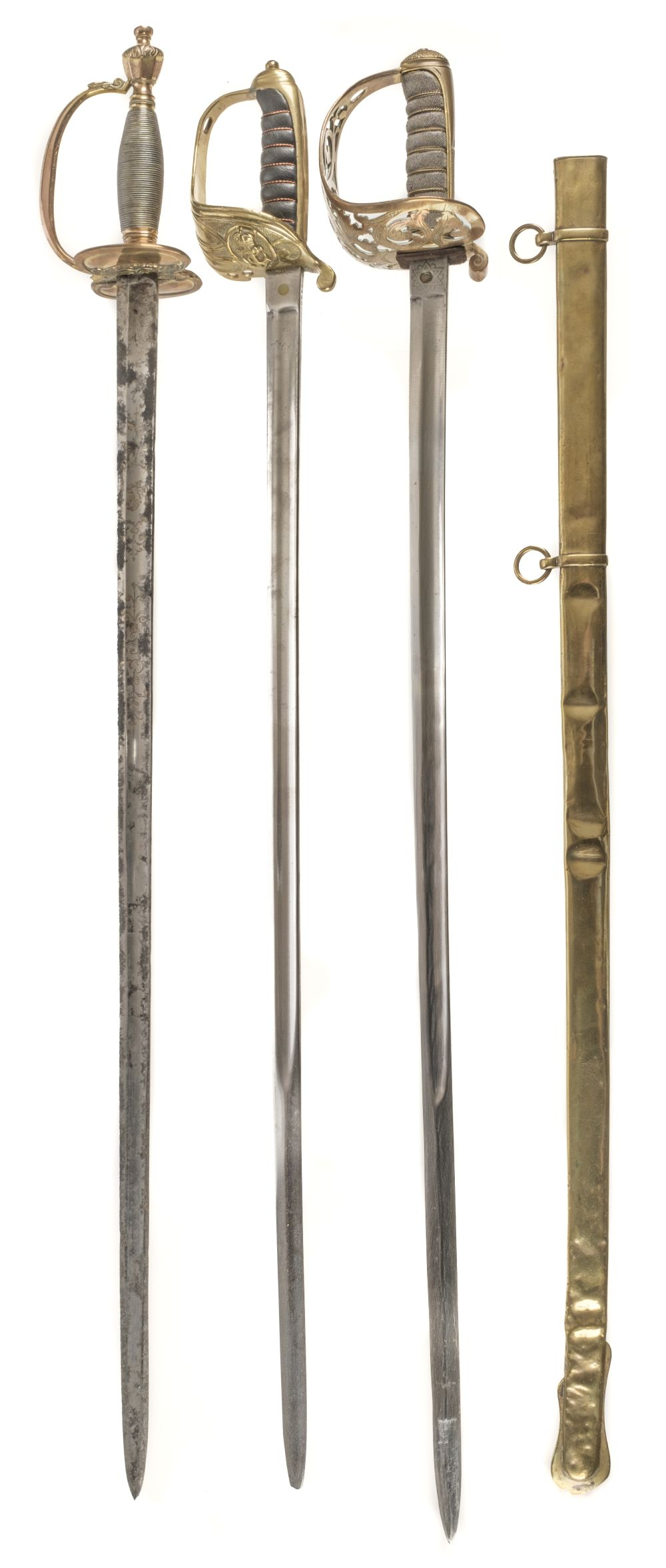 * Sword. Victorian Officer's Sword and others