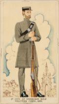 * Military Watercolours. 1st City of Edinburgh Rifle Volu[n]teer Corps, 1859, circa 1939