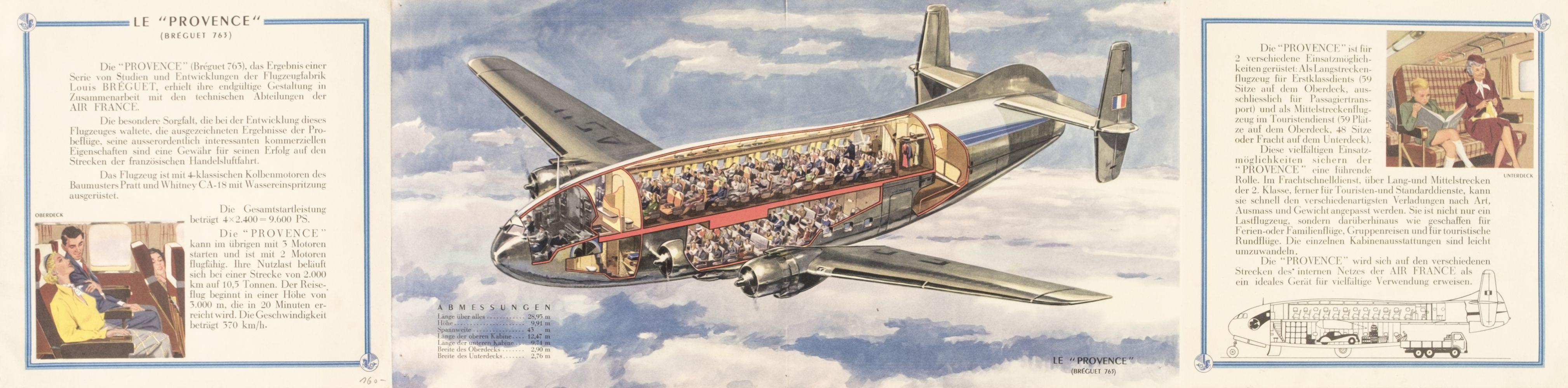 * Civil Aviation. Air France - Breguet