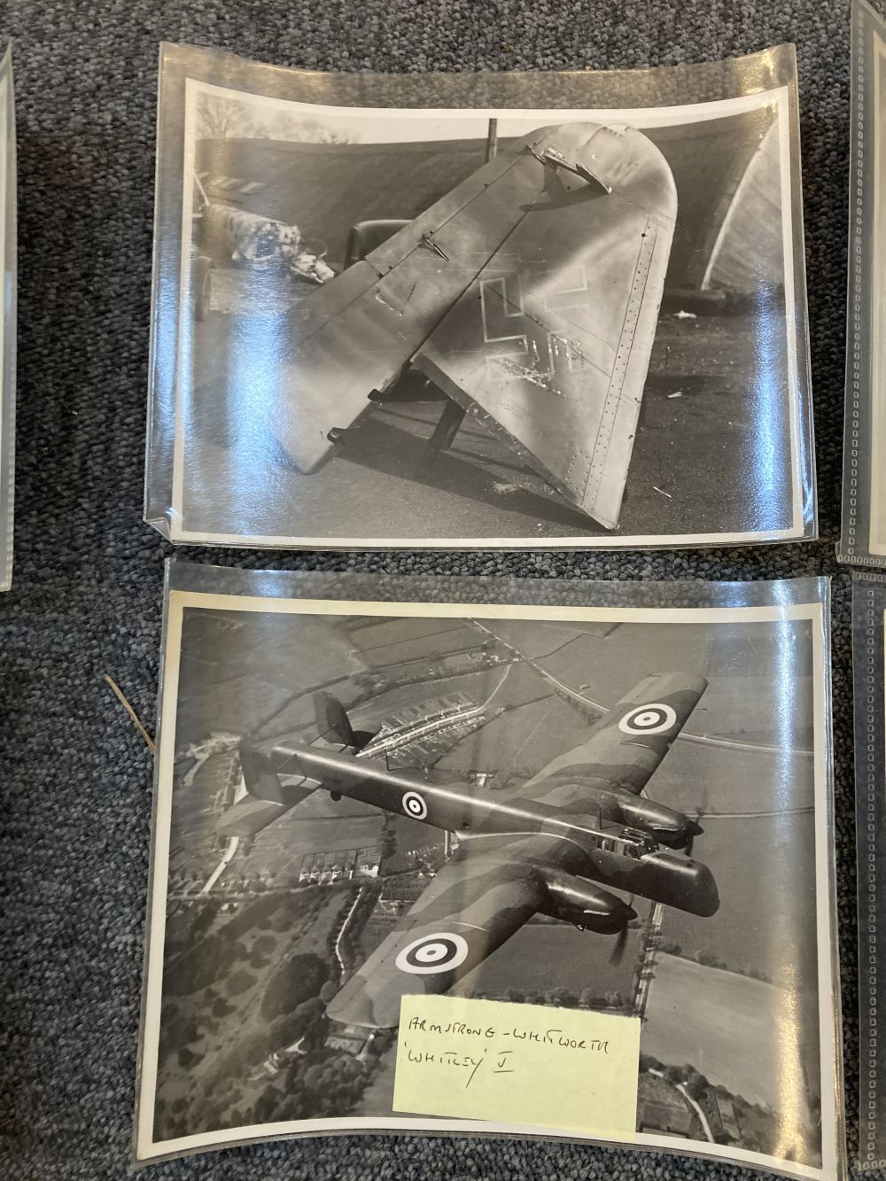 * Aviation Photographs. WWII RAF and Luftwaffe Photographs - Image 2 of 15