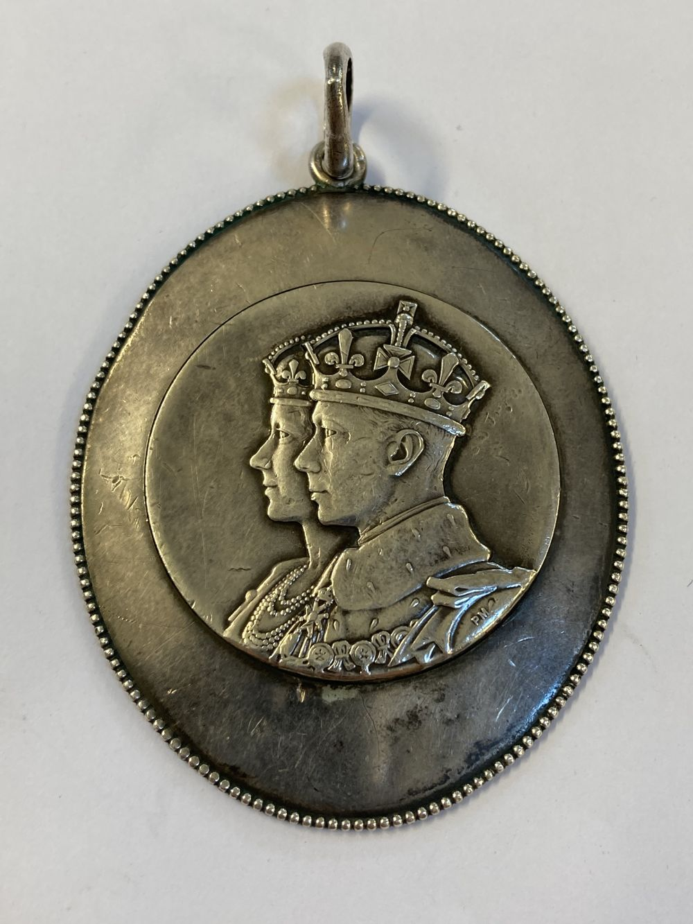 * Rhodesia. Royal Visit to South Africa 1947 Silver Medal - Image 2 of 3