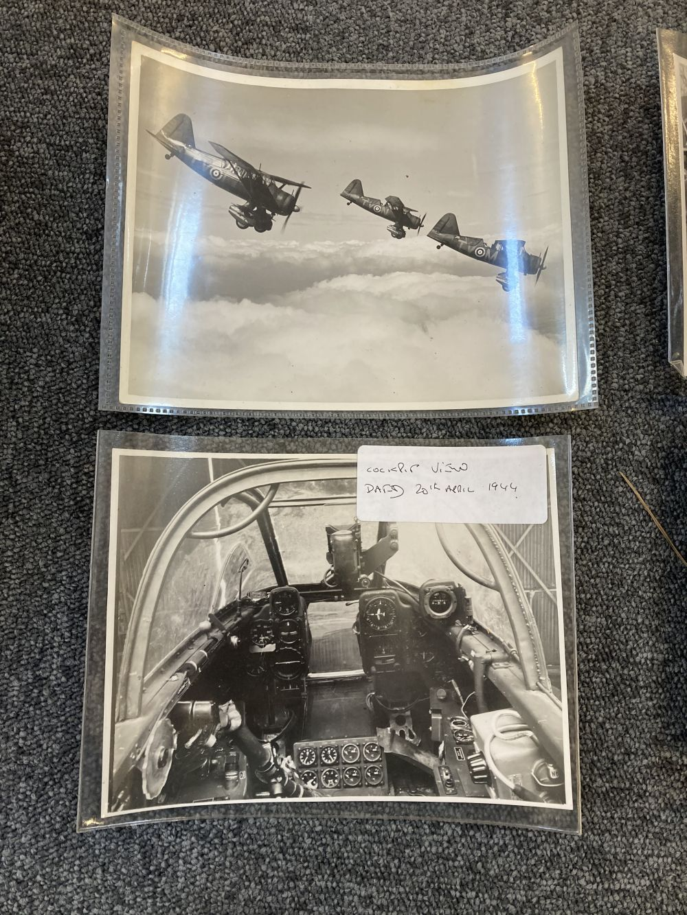 * Aviation Photographs. WWII RAF and Luftwaffe Photographs