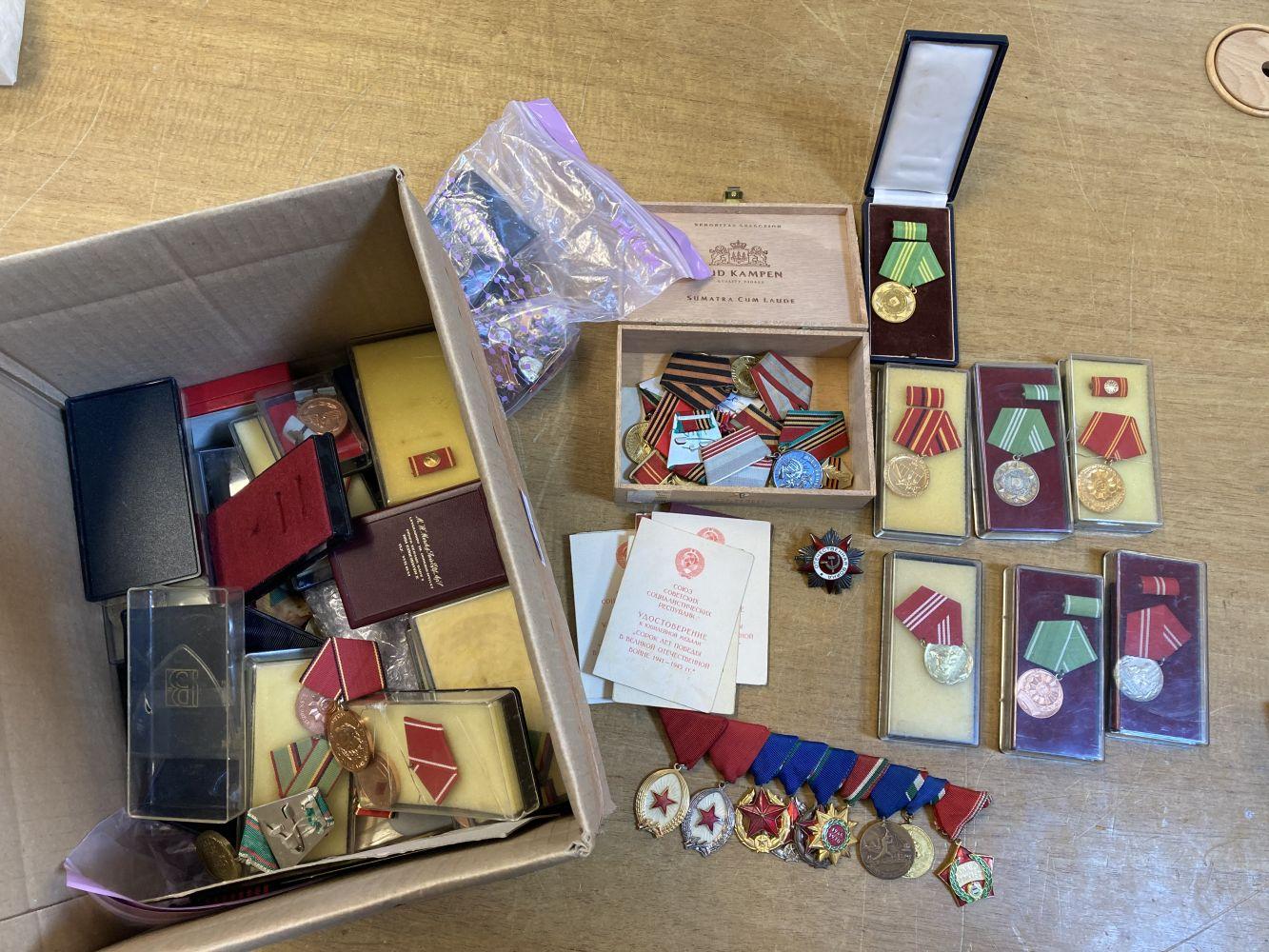* Soviet & East German Medals