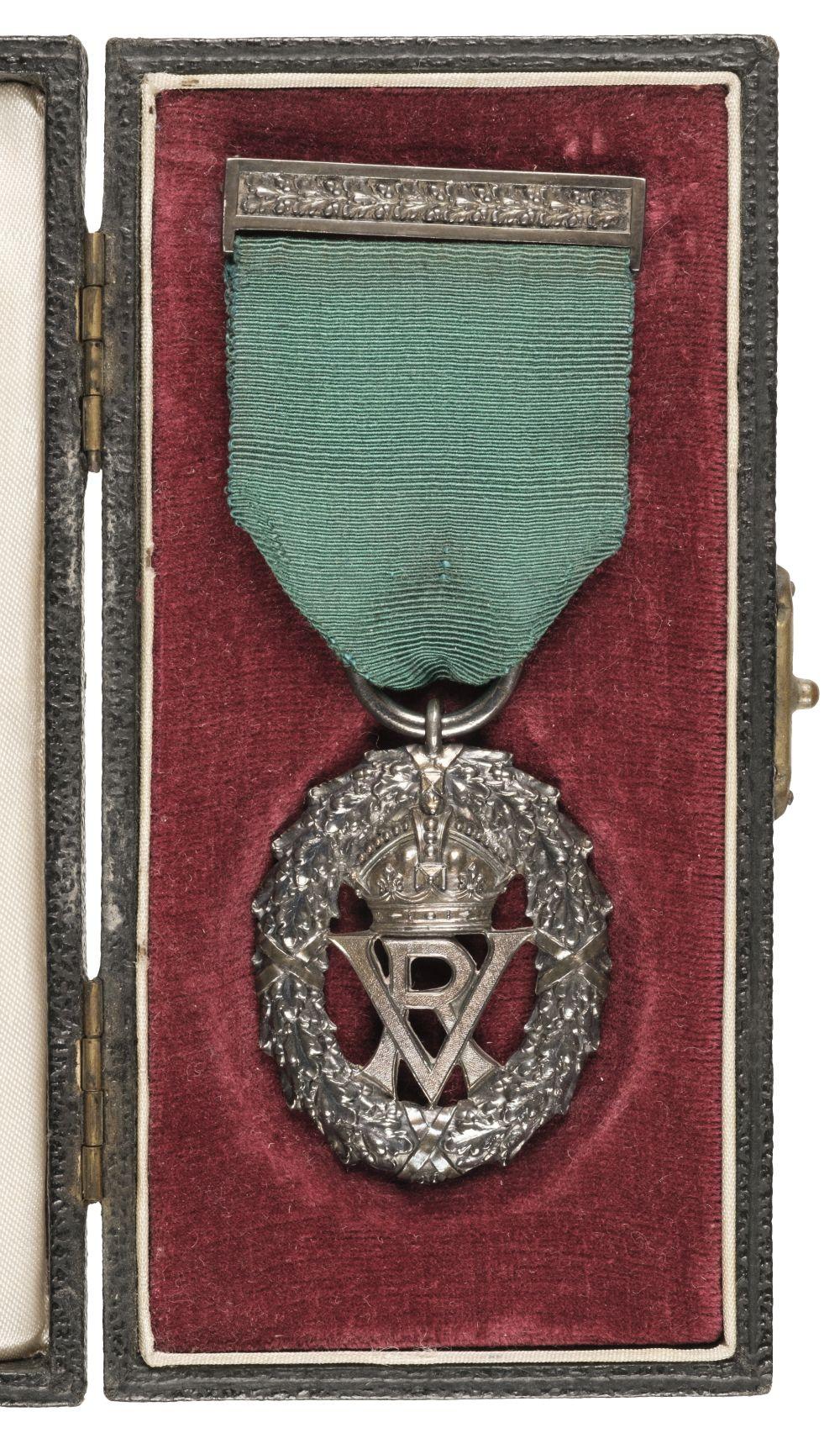 * Volunteer Officers' Decoration, V.R.
