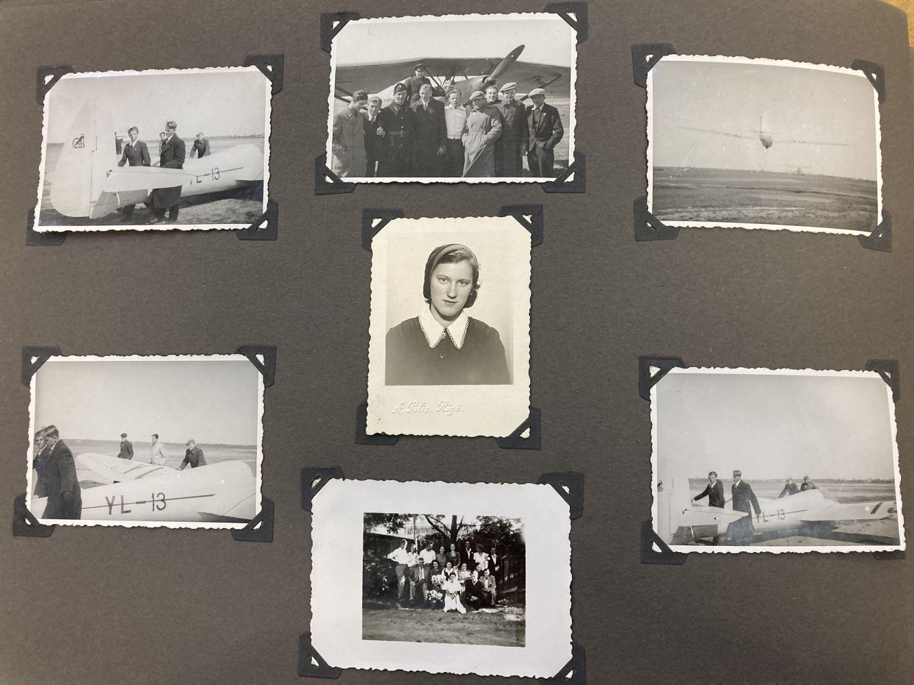 * Aviation Photographs - WWII Latvian Luftwaffen-Legion Lettland - Image 7 of 8