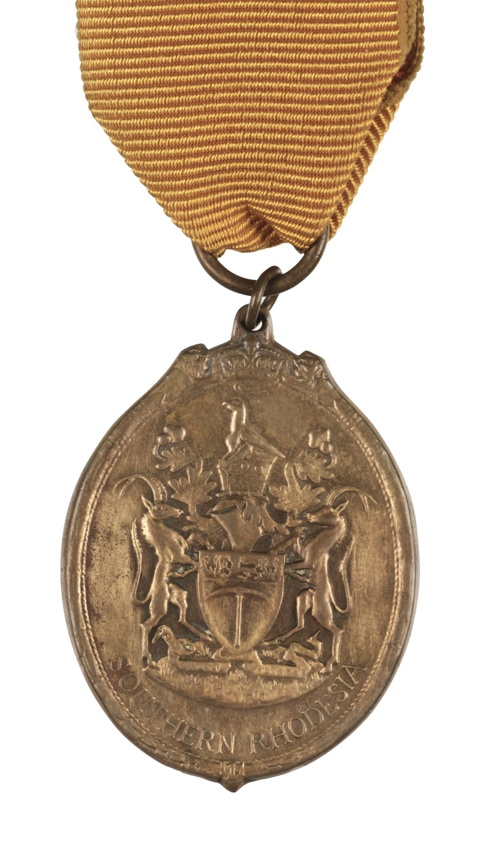 * Southern Rhodesia. Badge of the Certificate of Honour