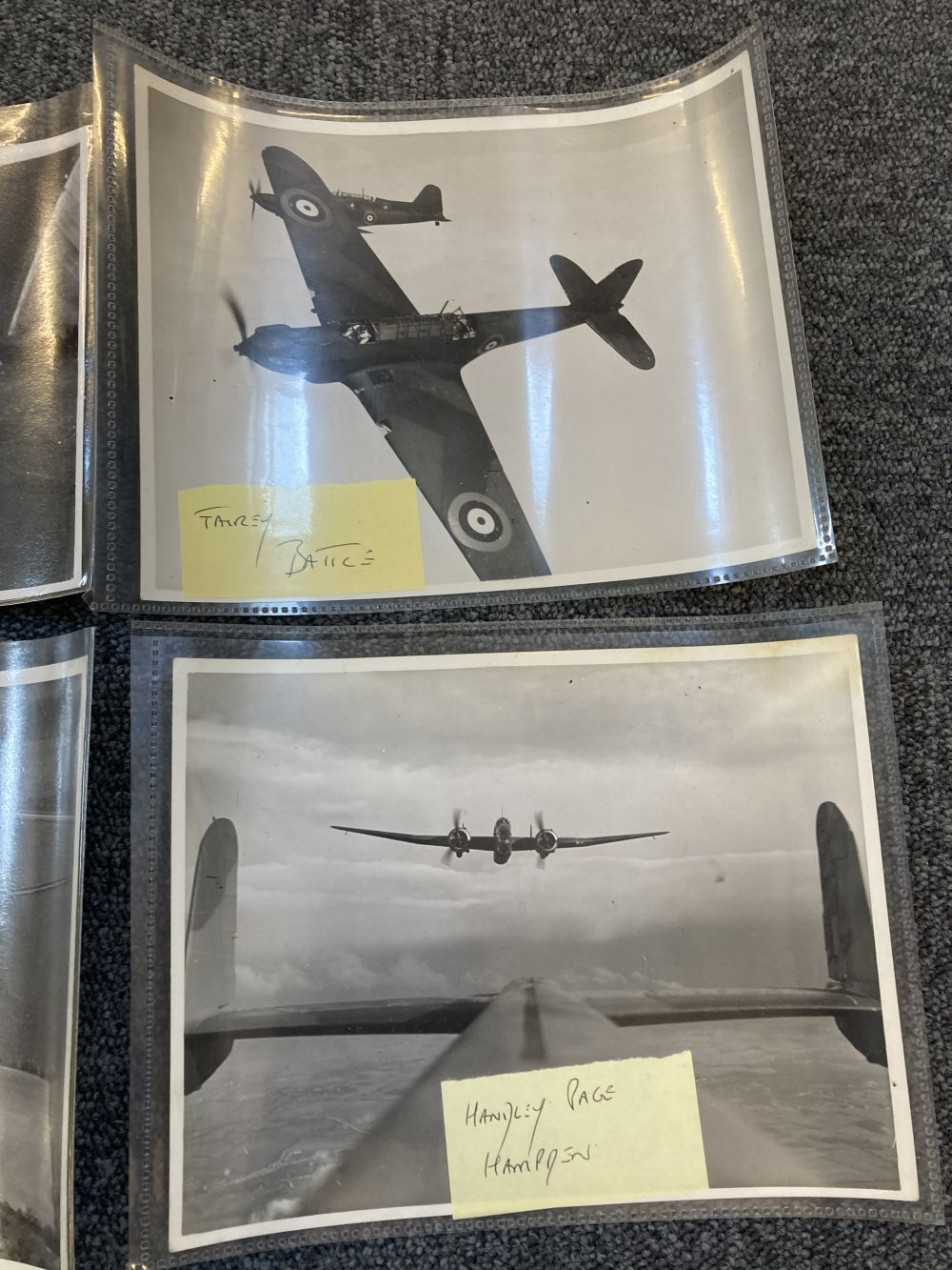 * Aviation Photographs. WWII RAF and Luftwaffe Photographs - Image 3 of 15