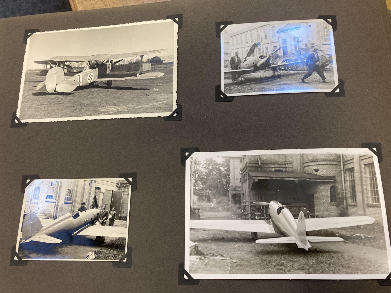 * Aviation Photographs - WWII Latvian Luftwaffen-Legion Lettland - Image 3 of 8