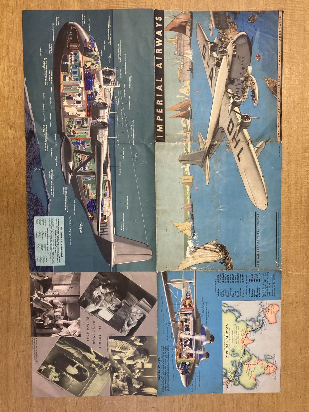 * Imperial Airways. The Greatest Air Service in the World - Image 2 of 3