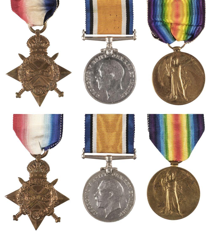 * WWI Suffolk Regiment Medals