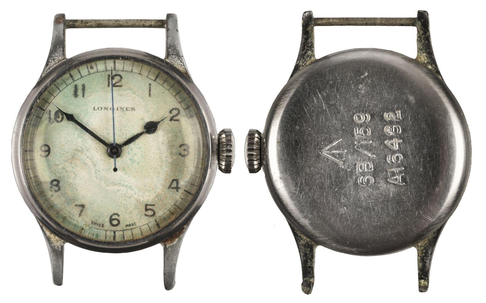 * Military Wristwatch. Longines Wristwatch