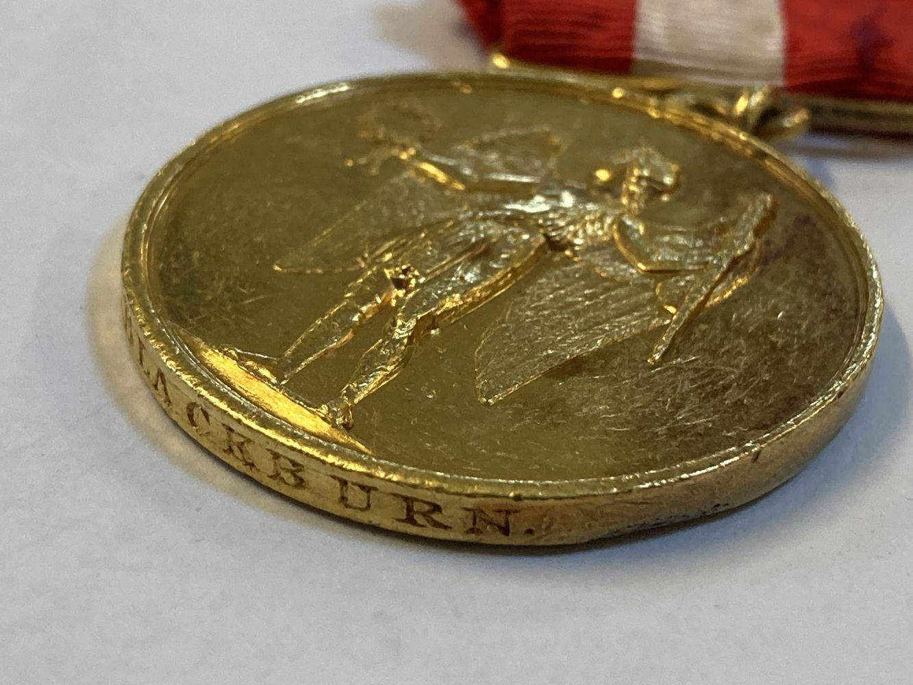 * Denmark. Christianus IX Gold Medal - J Blackburn - Image 5 of 5
