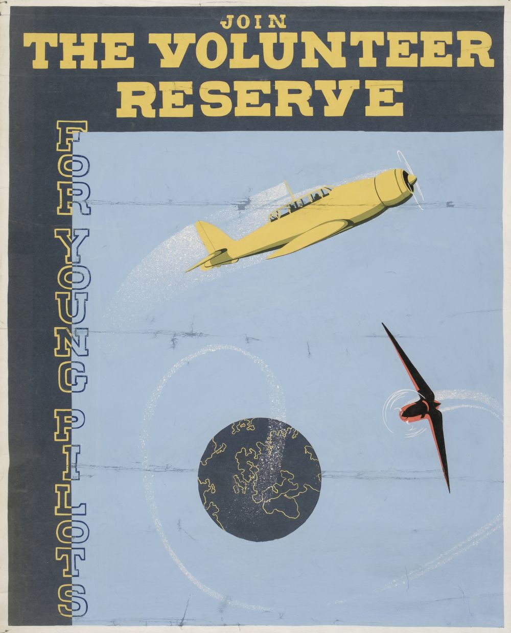 * WWII RAF Posters - The Volunteer Reserve - Image 2 of 2