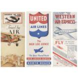 * Civil Aviation. American Timetables 1930-1960