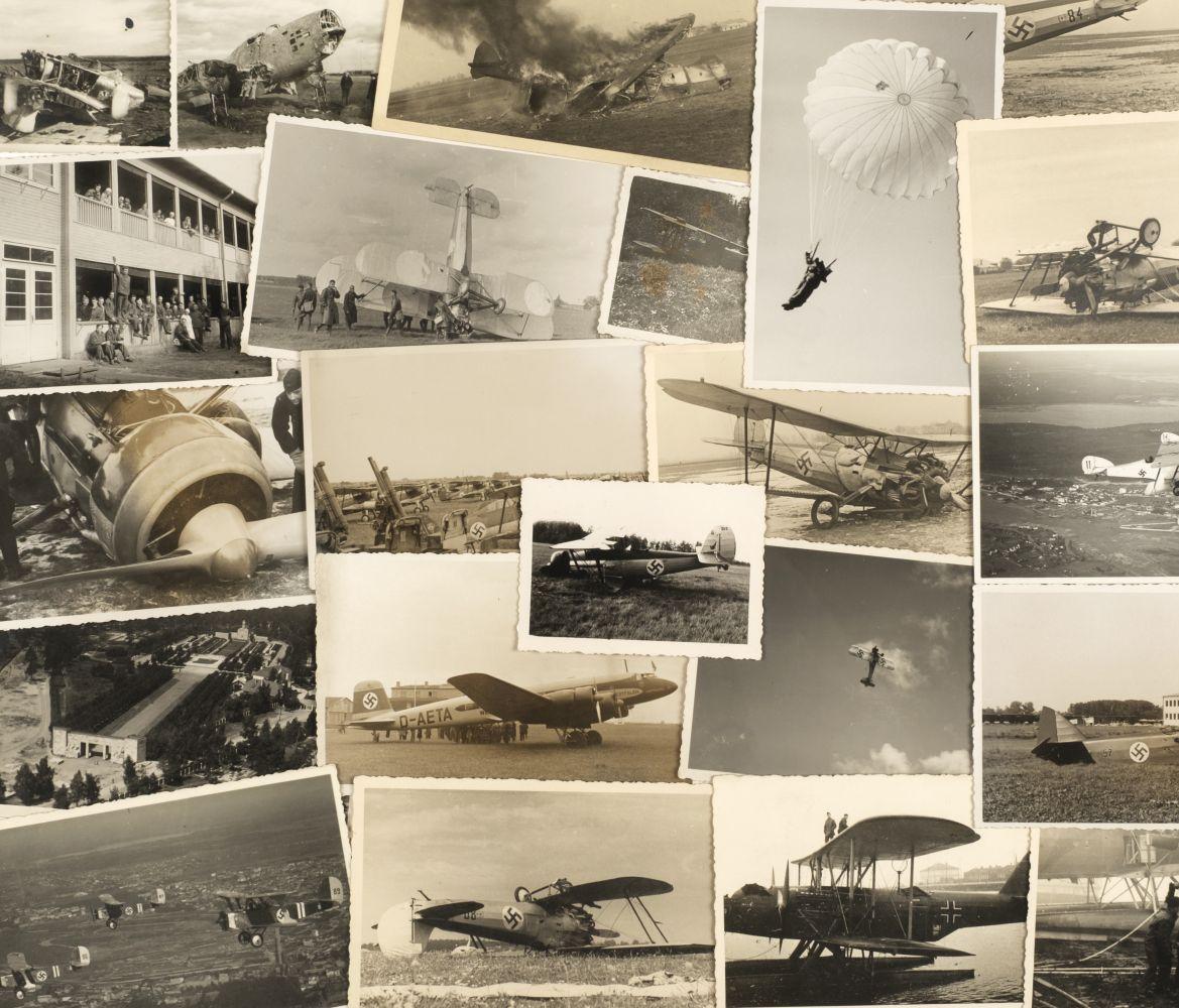 * Aviation Photographs - WWII Latvian Luftwaffen-Legion Lettland