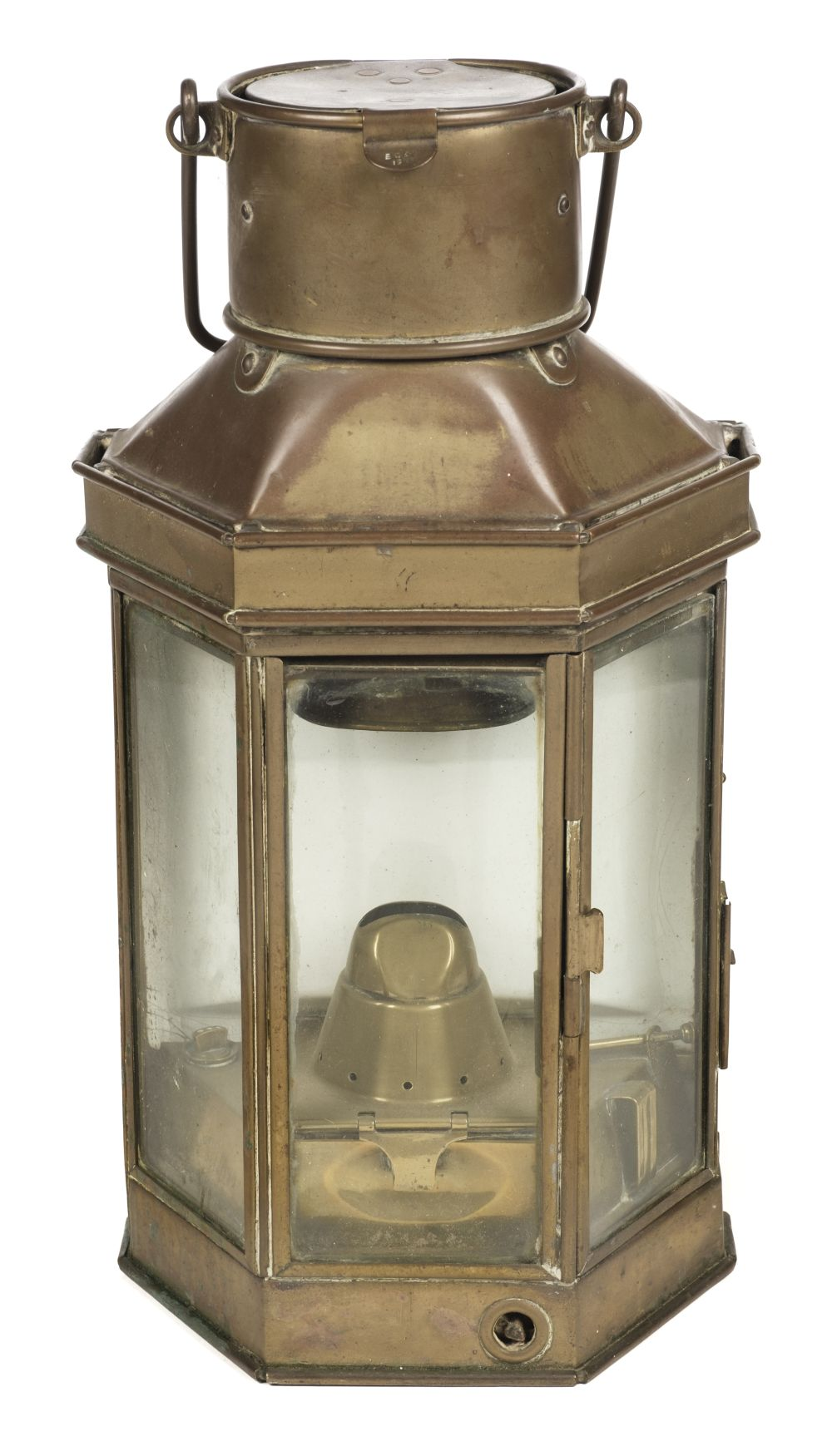 * WWI Brass Trench / Wardroom Lamp
