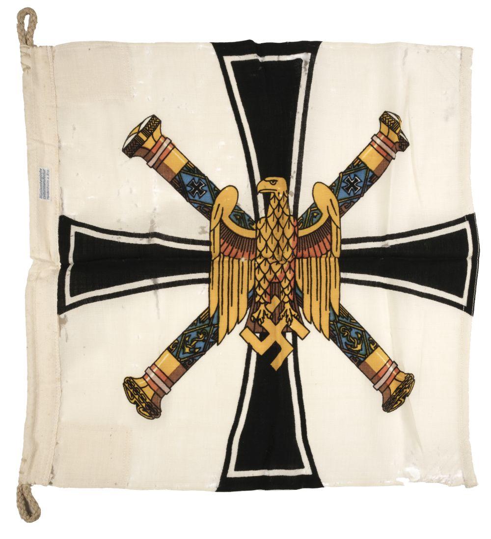 * Third Reich. WWII Kriegsmarine Grand Admirals Flag
