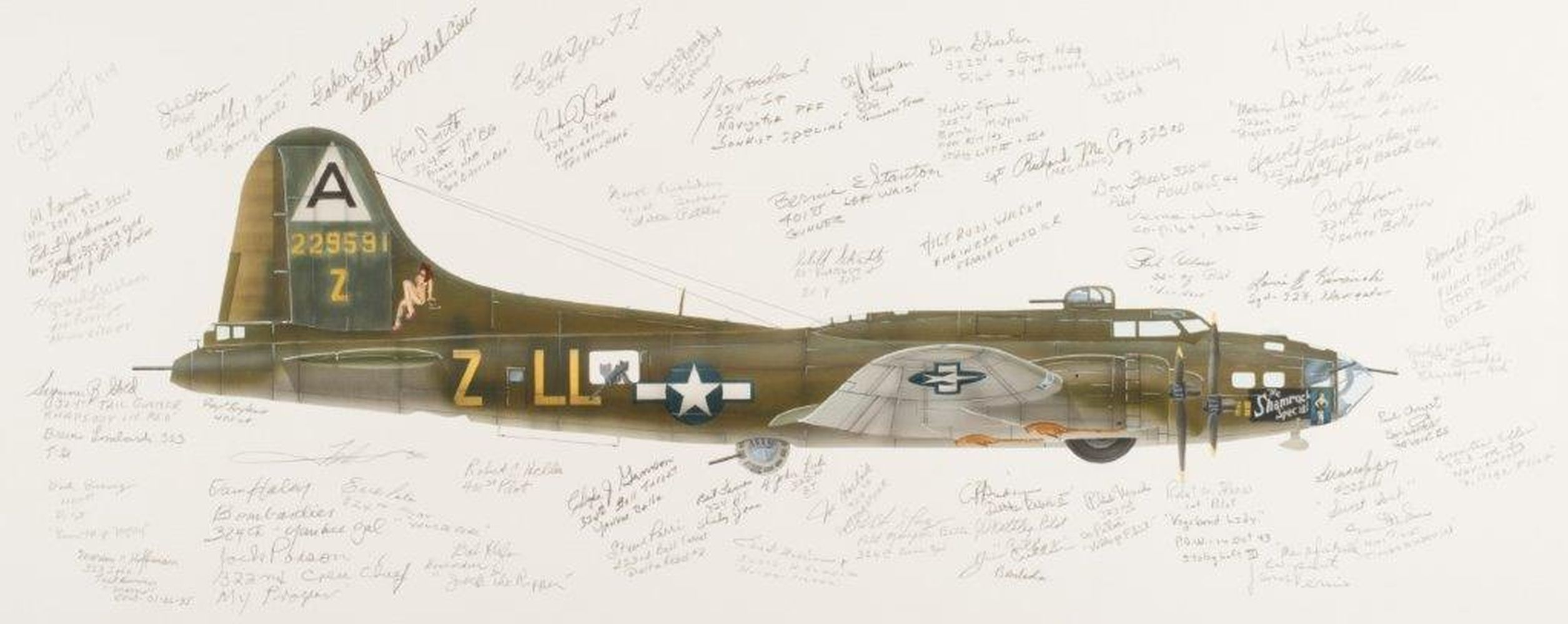 "* Valo (John C., circa 1963). 91st Bomb Group ""Wray's Ragged Irregulars"""