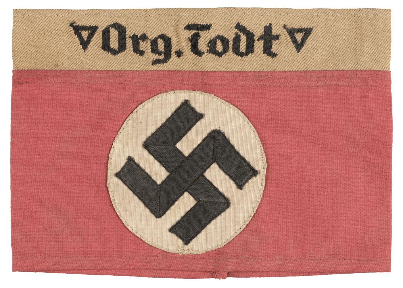 * Third Reich. Org Todt Armband