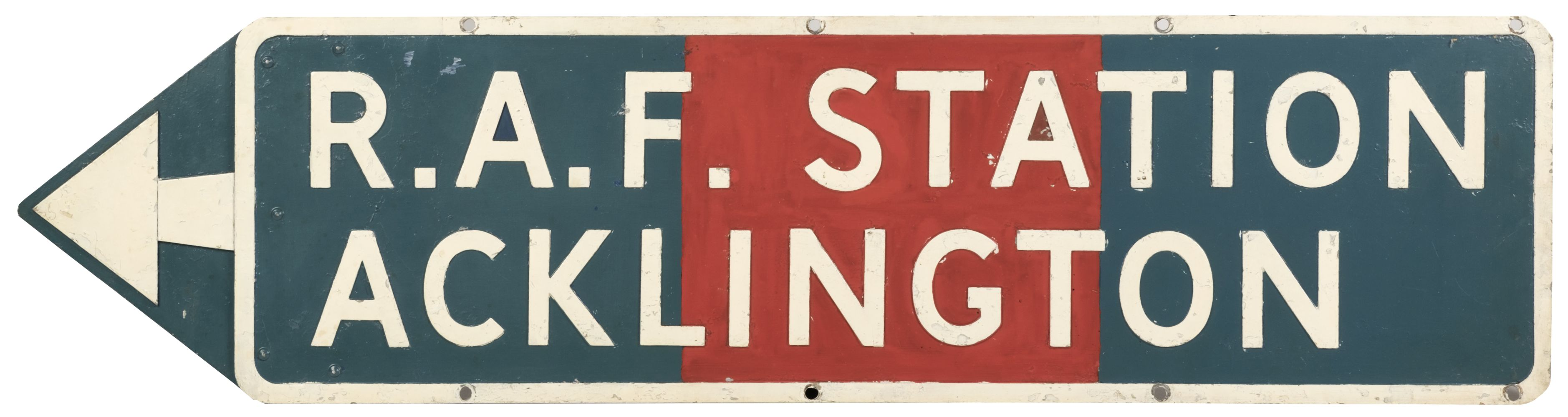 * Directional Sign - RAF Acklington