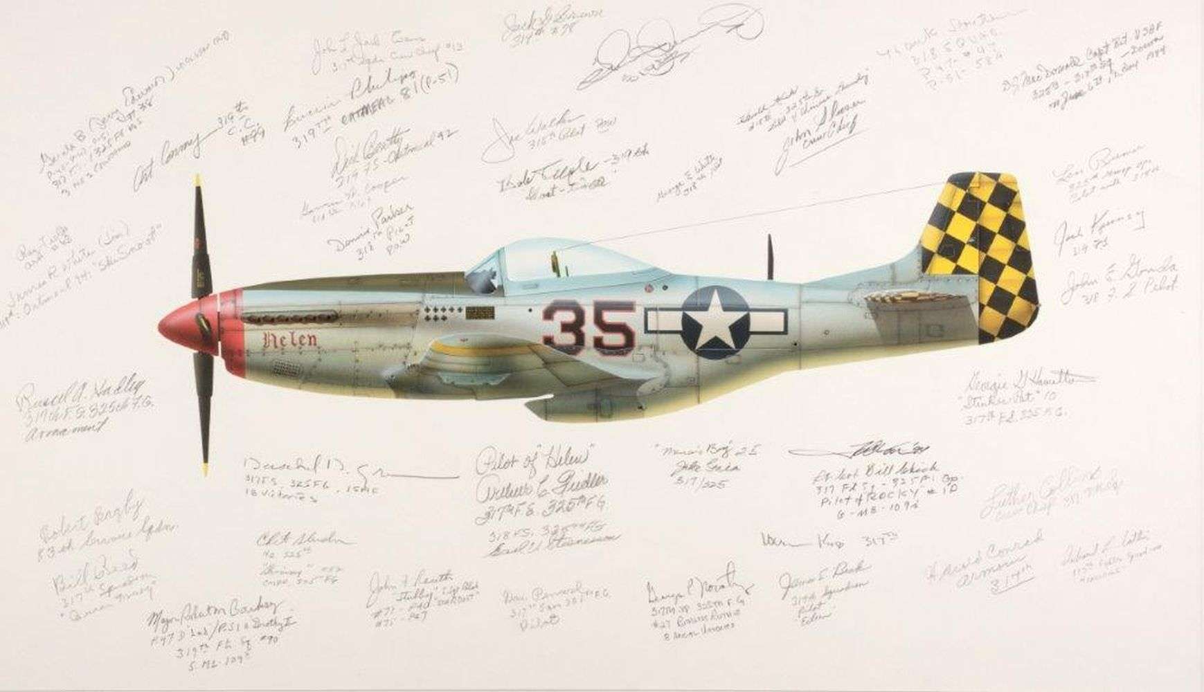 * Valo (John C., circa 1963), 325th Fighter Group