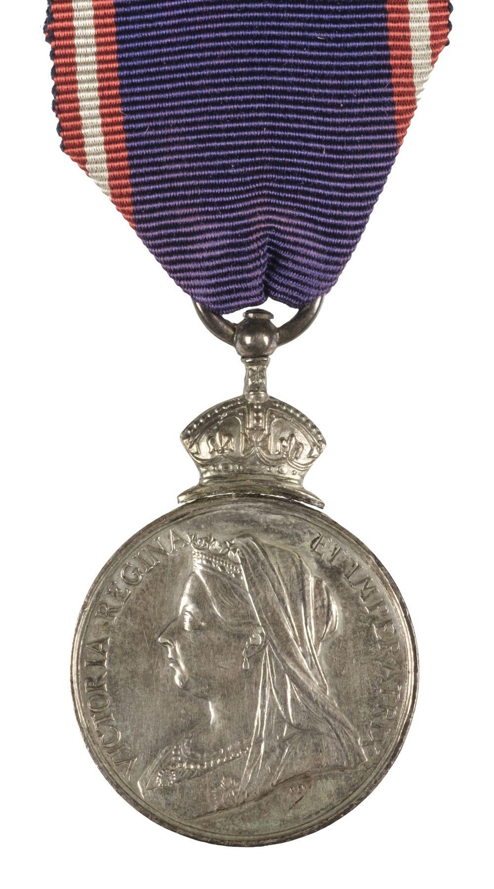 * Royal Victorian Medal, V.R., silver
