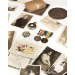 * Dorsetshire Regiment Medals & Memorial Plaque