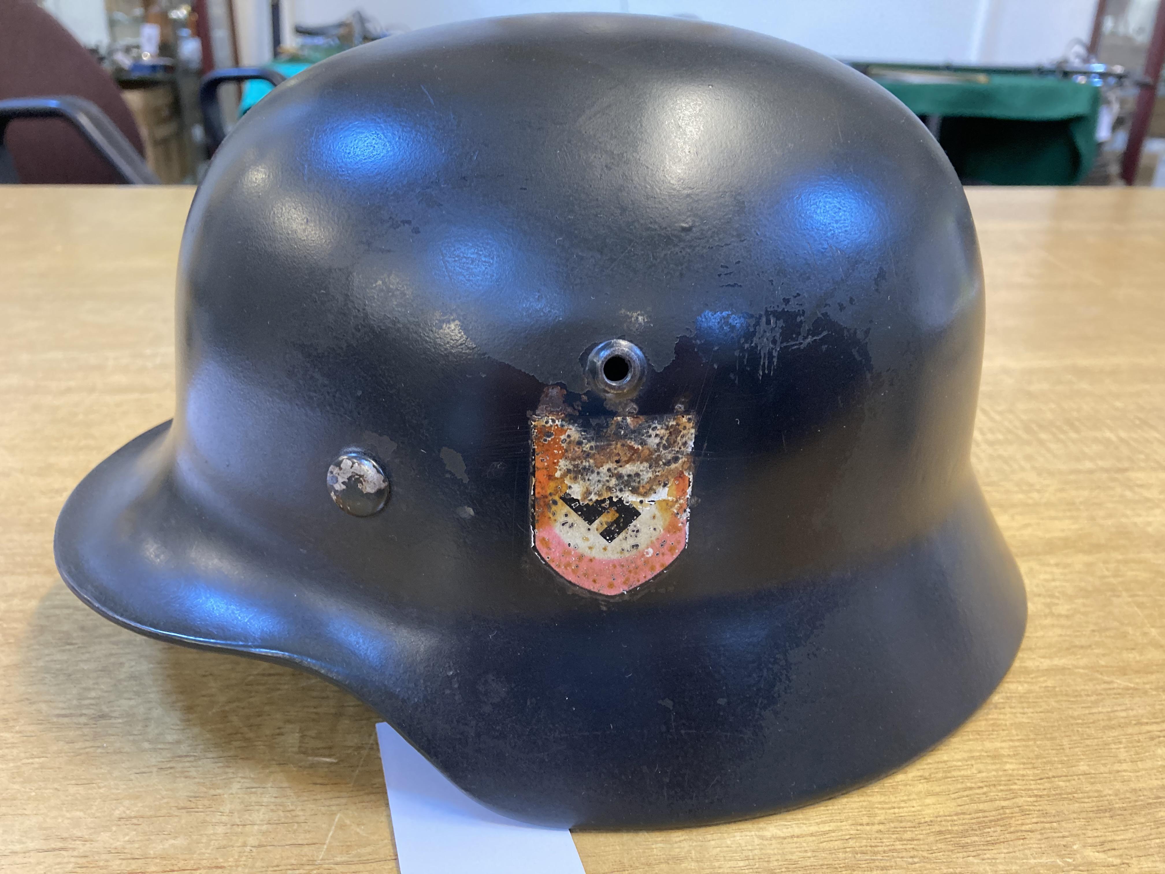 * Third Reich. SS M35 Helmet - Image 5 of 10