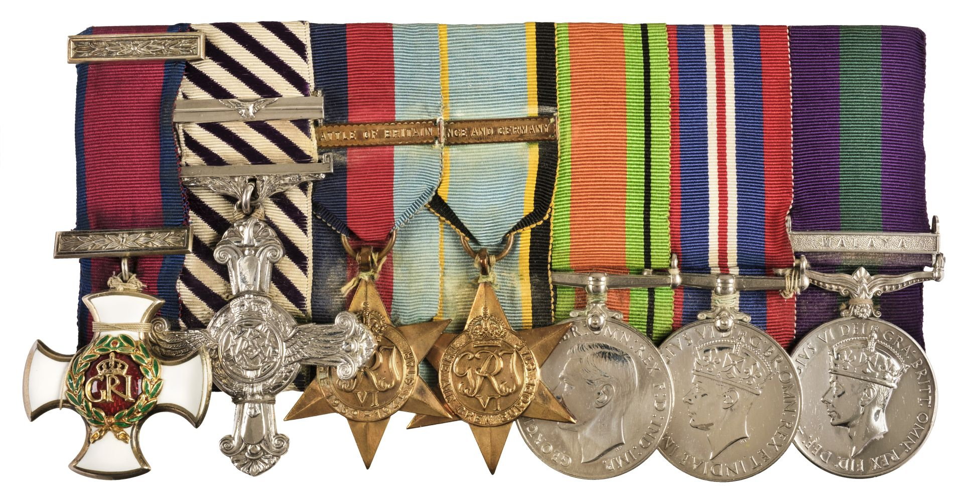 * Battle of Britain Medal Group - Air Commodore Peter Brothers