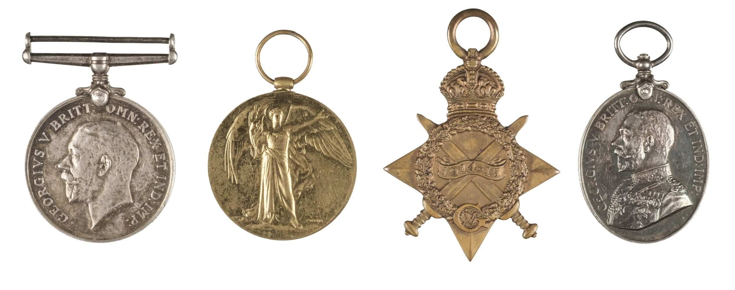 * WWI Cambridge Regiment Medals