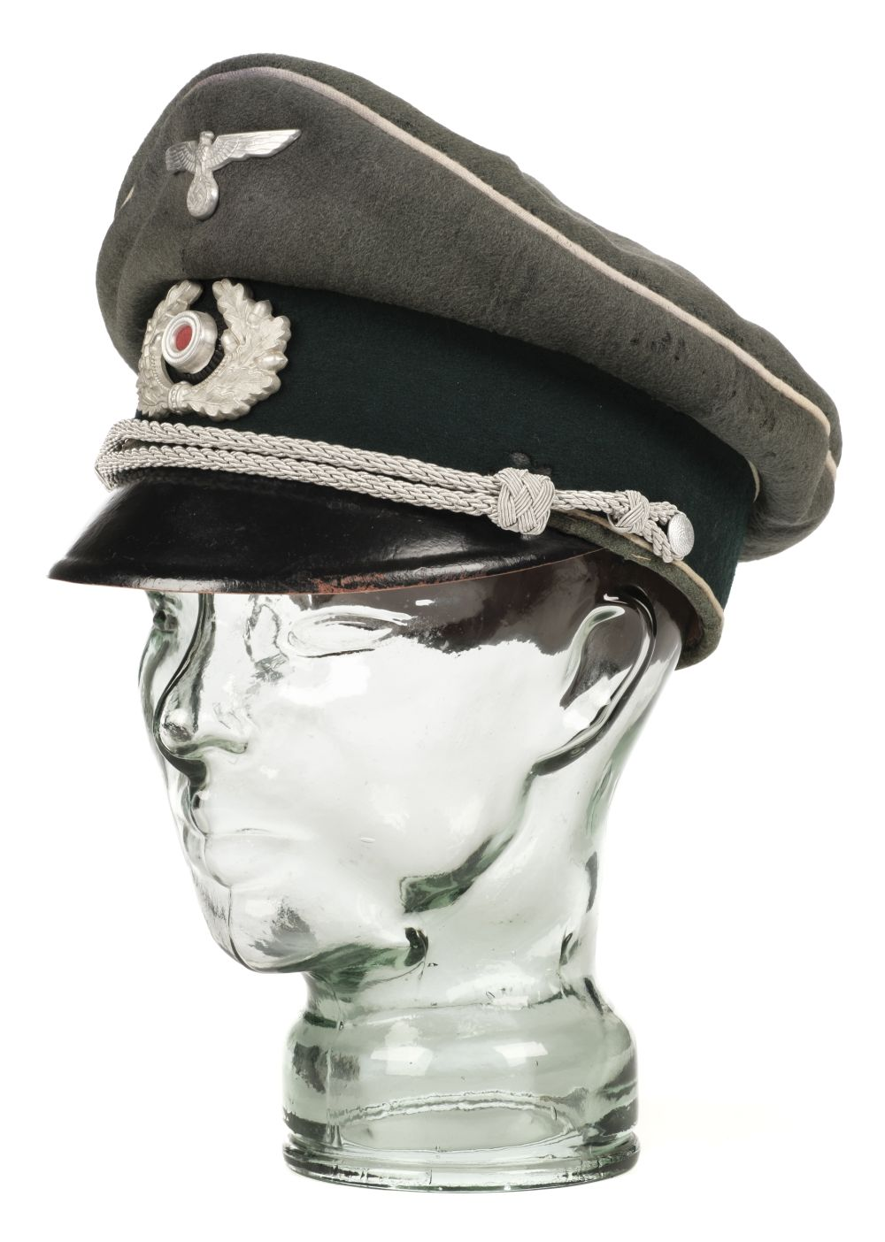 * Third Reich. WWII Infantry Officer's visor