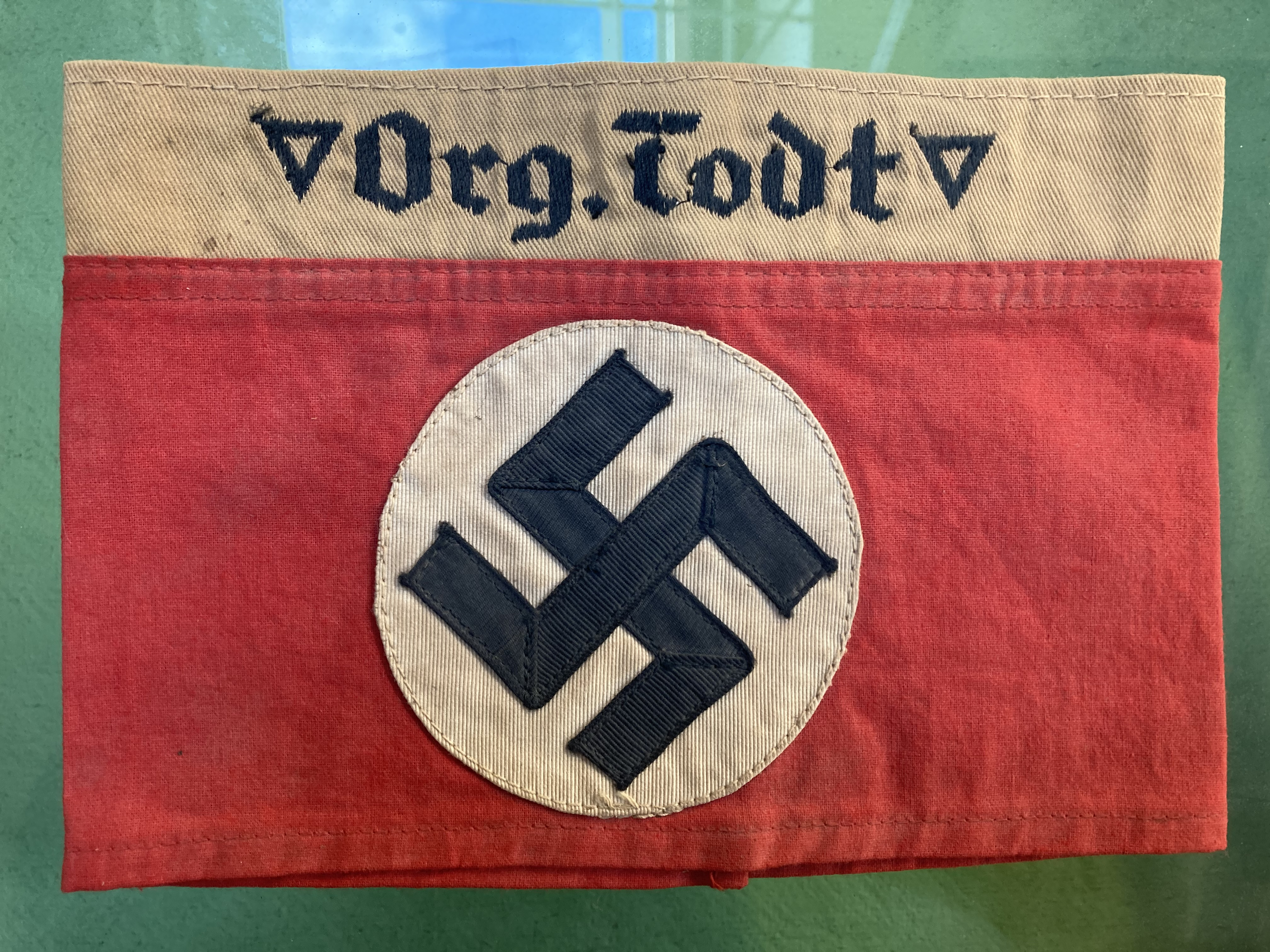 * Third Reich. Org Todt Armband - Image 2 of 5