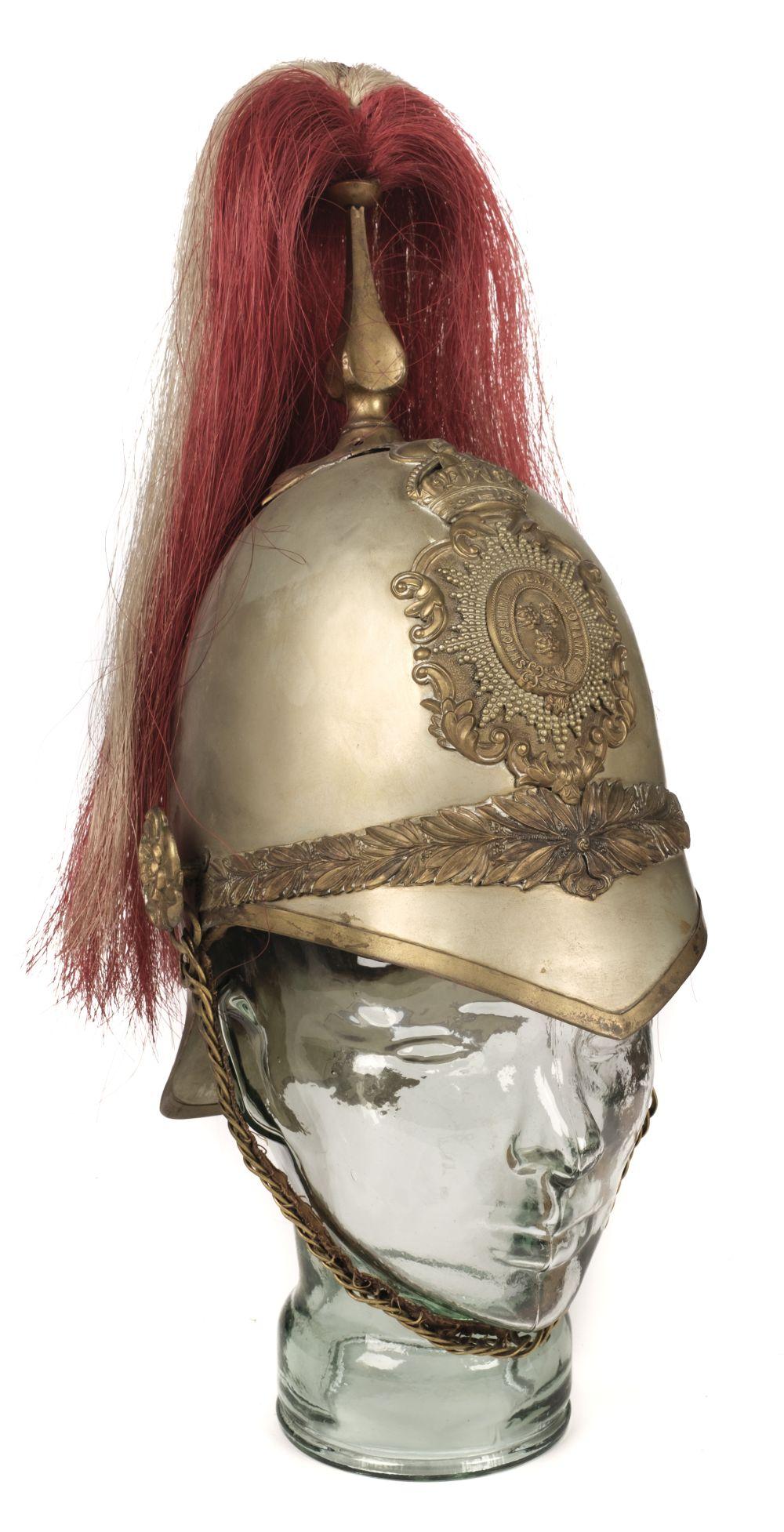 * Shropshire Yeomanry. An Edward VIII period helmet