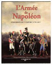 Umhey (Alfred). L'armee de Napoleon, uniformes du Ier Empire 1792-1815, Paris: Le Livre chez Vous