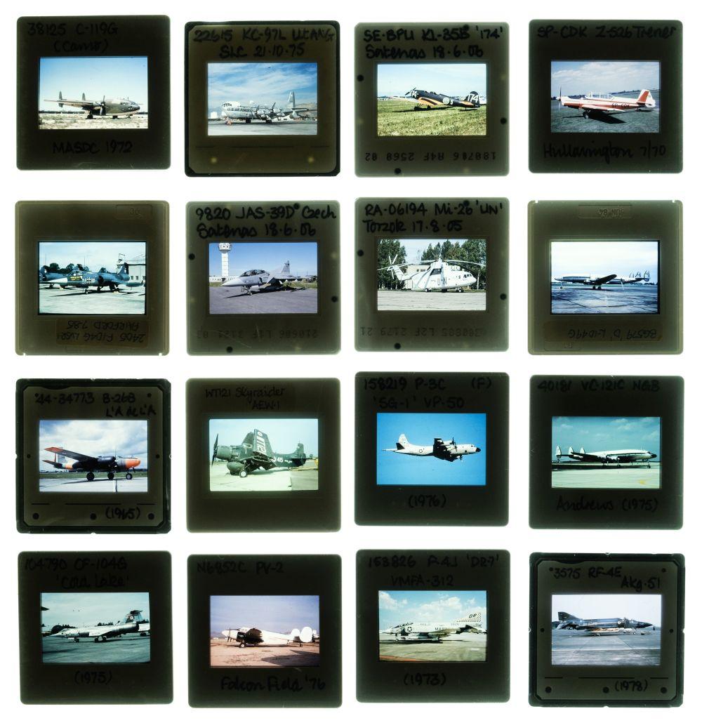 * Aviation Slides. Approximately 3000 35mm colour slides