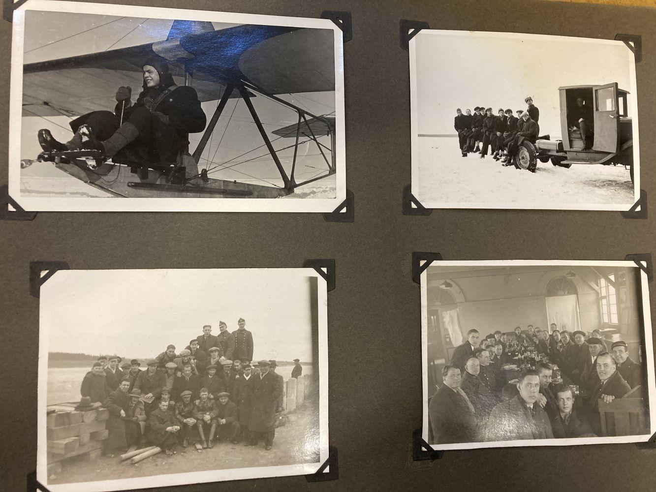 * Aviation Photographs - WWII Latvian Luftwaffen-Legion Lettland - Image 6 of 8