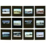 * Aviation Slides. Approximately 2000 35mm colour slides