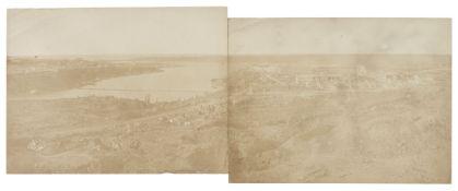 * Robertson (James, 1813-1888). A group of 5 Crimean War scenes, 1855