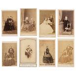 * Royalty. A group of 25 albumen cartes de visite, circa 1860s/1870s
