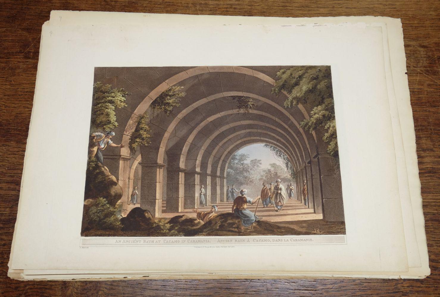 * Mayer (Luigi). A collection of 19 colour aquatint plates from Vues dans L'Empire Ottoman, 1803 - Image 5 of 10