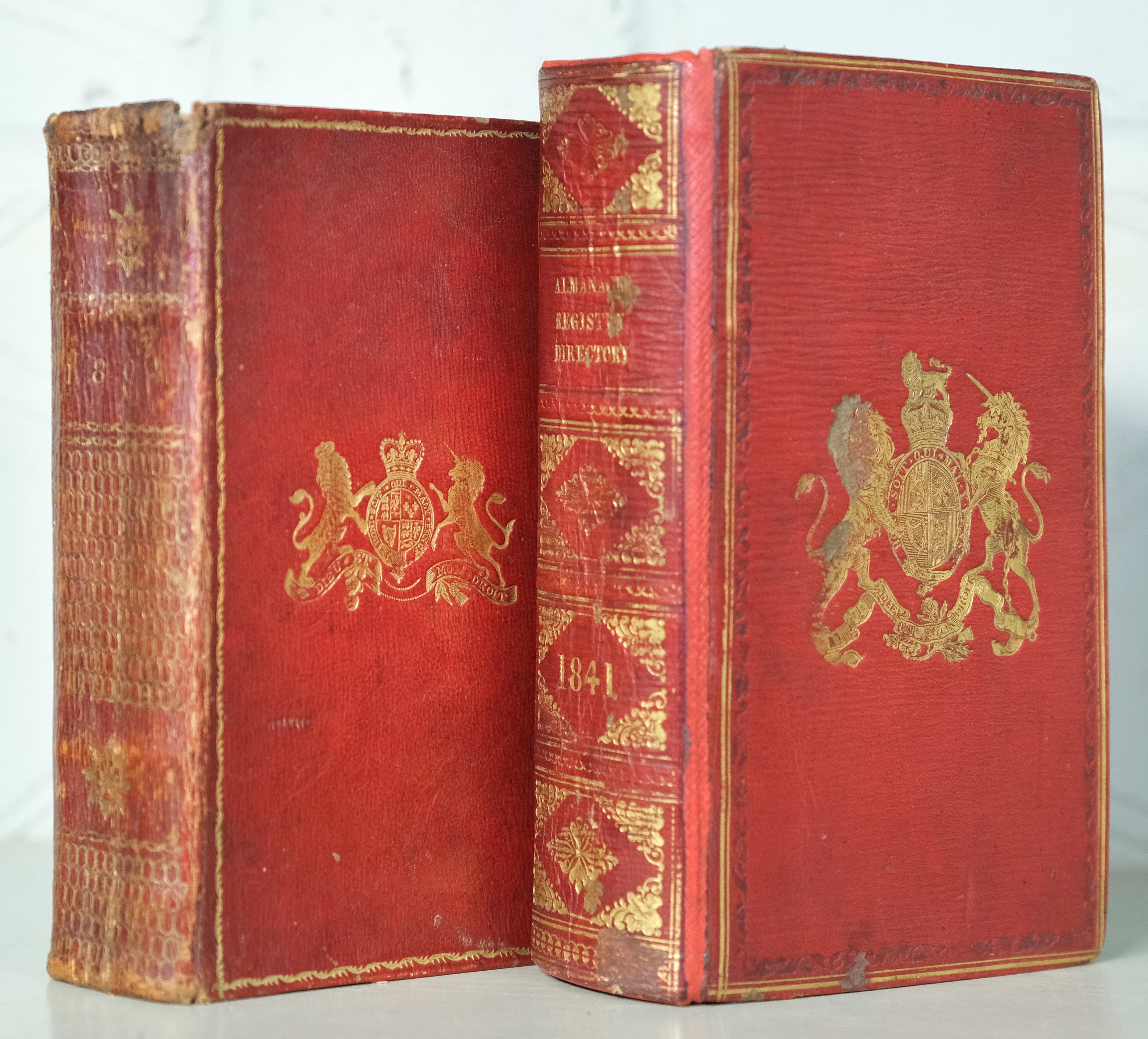Almanack. The Treble Almanack for the Year MDCCCIV, 3 parts in one, Dublin, 1804