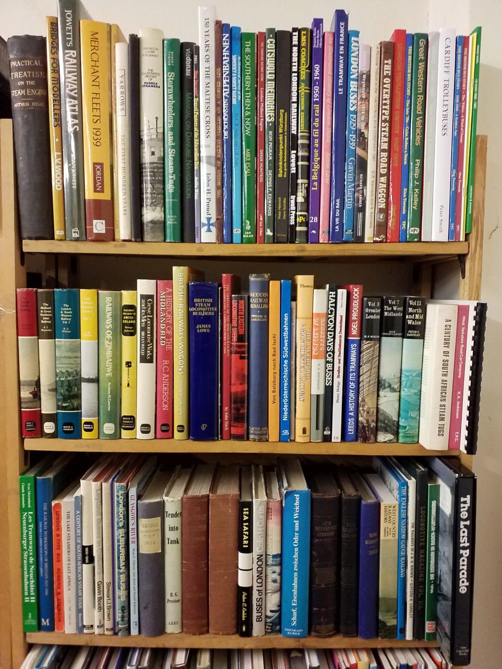 Transport. A large collection of modern railway, bus & transport reference
