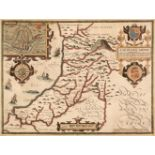 Wales. Speed (John), Cardigan Shire Described..., J. Sudbury & G. Humble, 1611 or later