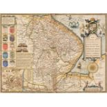Lincolnshire. Speed (John), The Countie and Citie of Lyncolne Described..., 1611