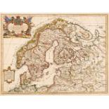 Scandinavia. Rossi (G. G.), La Scandinavia..., Rome, circa 1678