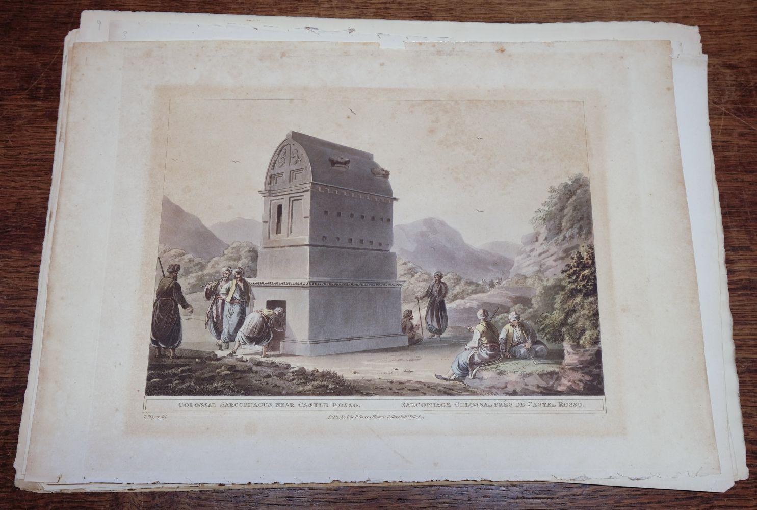 * Mayer (Luigi). A collection of 19 colour aquatint plates from Vues dans L'Empire Ottoman, 1803 - Image 3 of 10
